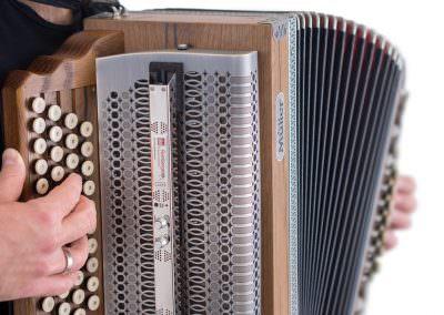 TA3000eco auf Steirischer Harmonika
