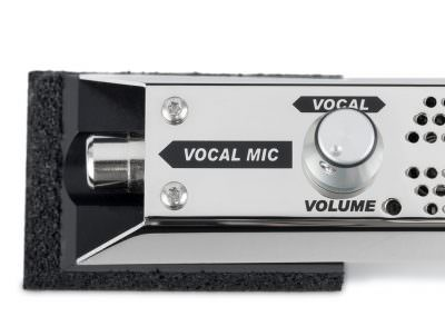 Volume control for vocal microphone
