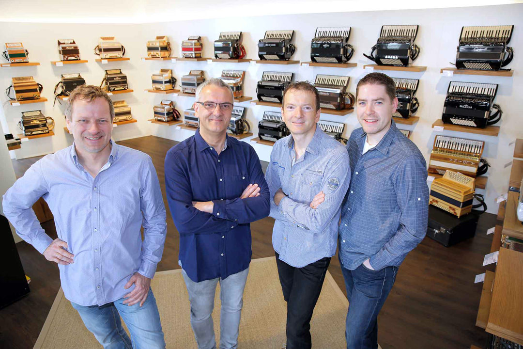 Das Team von Rumberger sound products