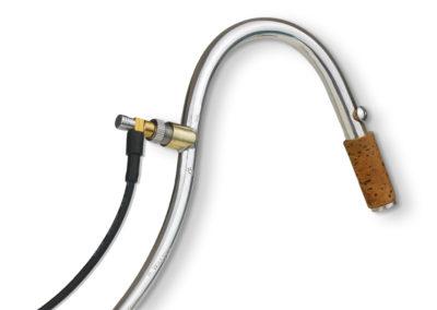 Einbautonabnehmer WP-1X an Fagott S-Bogen